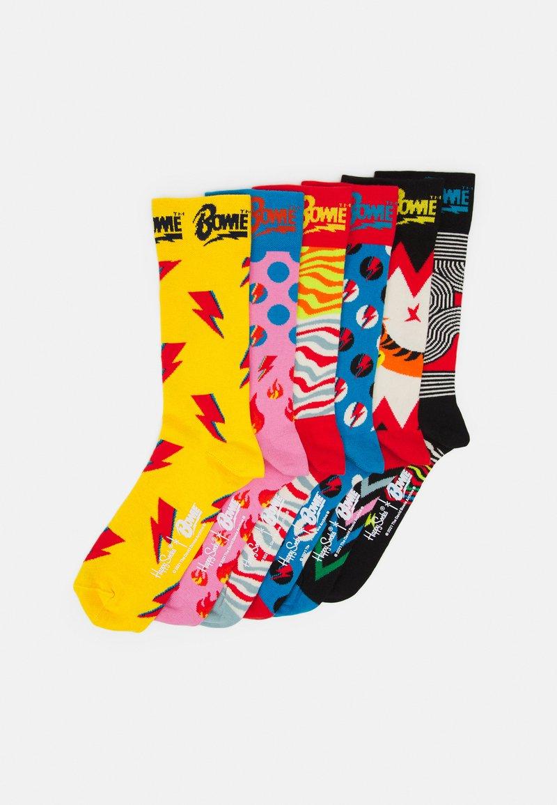Happy Socks - BOWIE GIFT UNISEX 6 PACK - Socks - multi-colored