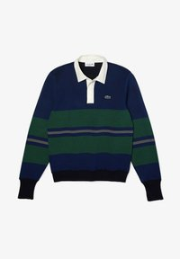 Lacoste - Polo shirt - navy blau / blau / grün / beige / weiß - 5