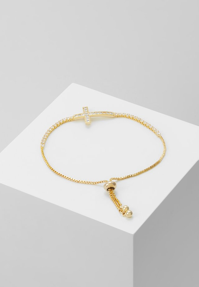 SLIDING KREUZ - Bracelet - gold-coloured