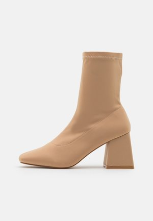 ASHLEY - Classic ankle boots - nude