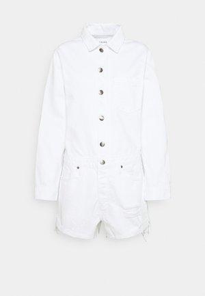 EASY ROMPER - Jumpsuit - rumpled blanc paint destruct