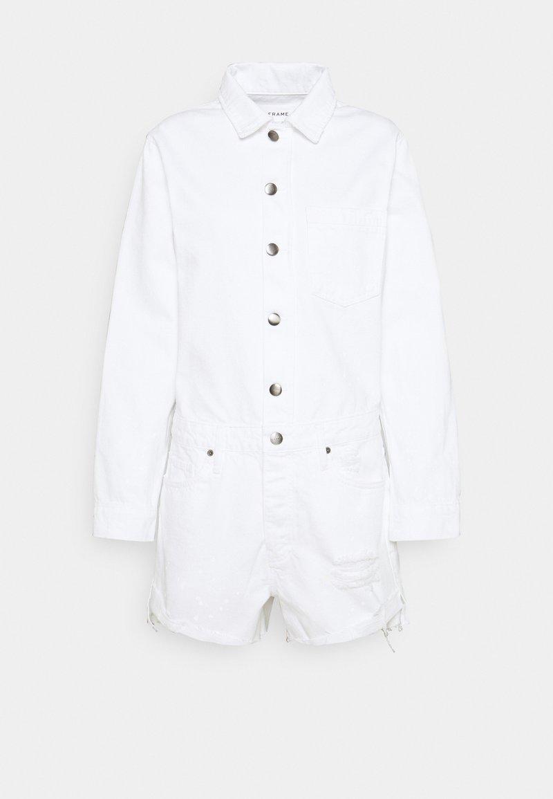 Frame Denim - EASY ROMPER - Jumpsuit - rumpled blanc paint destruct