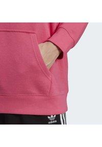 adidas Originals - TREFOIL ESSENTIALS HOODED - Jersey con capucha - pink, not defined - 6