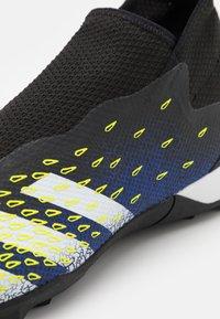 adidas Performance - PREDATOR FREAK .3  - Astro turf trainers - core black/footwear white/solar yellow - 5
