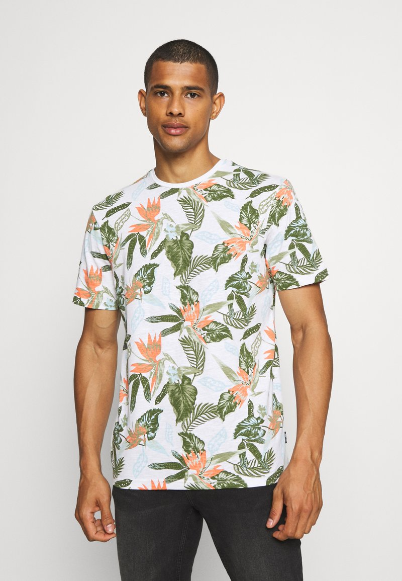 Only & Sons - ONSKLOP LIFE TEE - T-shirt med print - white