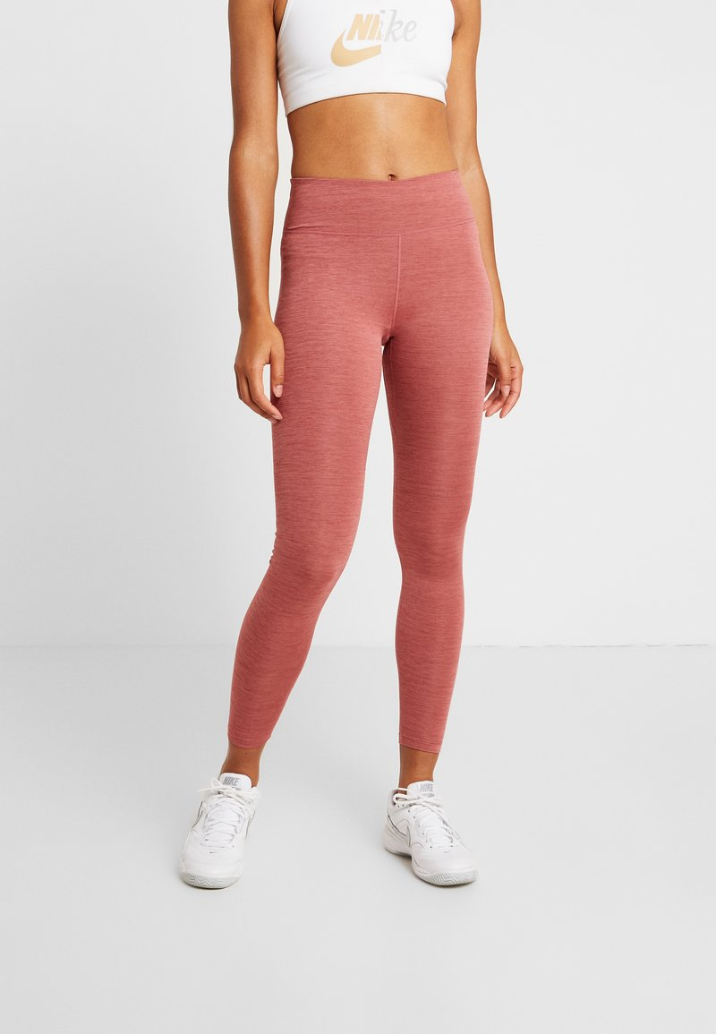 Nike Performance - ONE - Leggings - cedar/light redwood/black