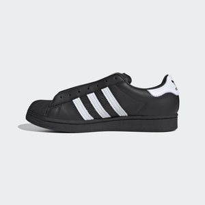 ADIDAS SUPERSTAR LACELESS SNEAKER - Trainers - black