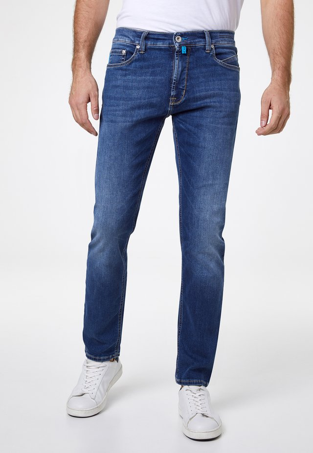 FUTUREFLEX LYON - Relaxed fit jeans - mid blue used