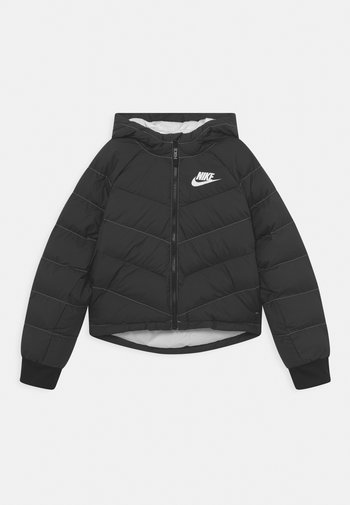 Winter jacket - black/white
