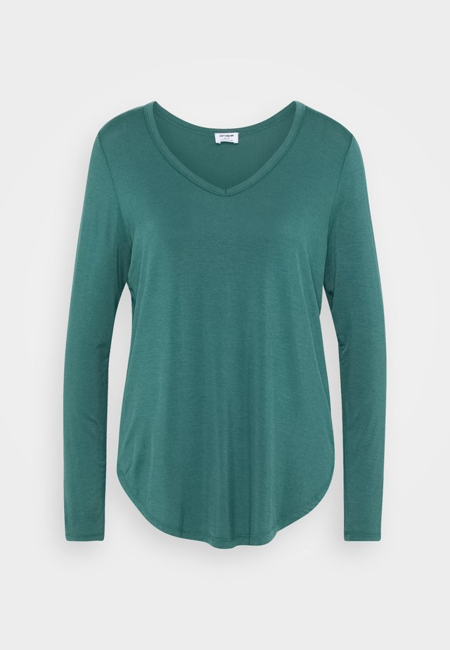 KARLY LONG SLEEVE  - Pitkähihainen paita - winter green