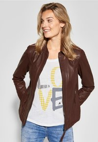 Cecil - Leather jacket - brown - 0