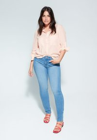Violeta by Mango - PLANAF6 - Button-down blouse - nude - 1