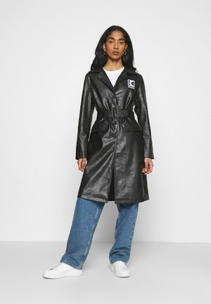 RETRO - Trenchcoat - black