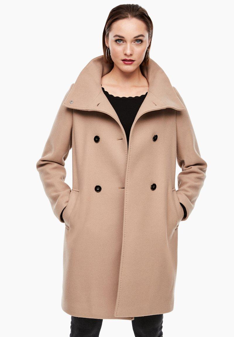 s.Oliver BLACK LABEL - Classic coat - beige