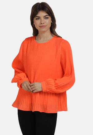 Blouse - neon orange