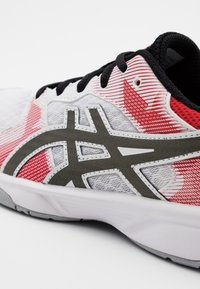 ASICS - GEL-TACTIC 2 - Volleyball shoes - white/gunmetal - 5