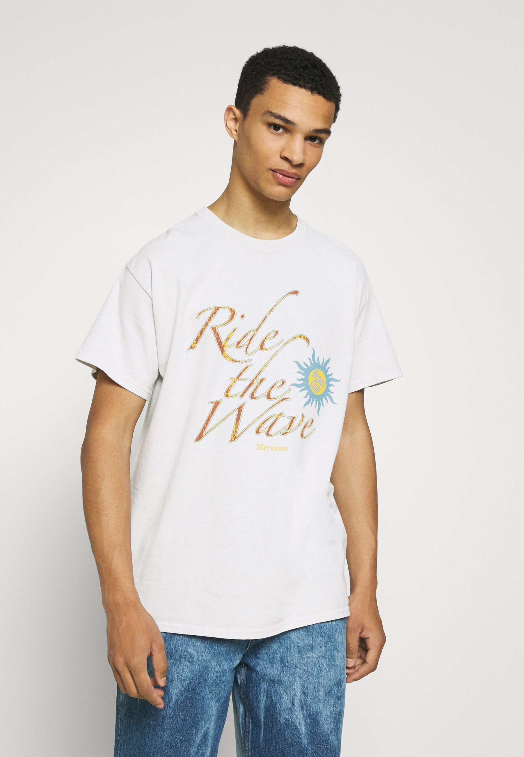 Men ST BARTS WAVE REGULAR  - Print T-shirt