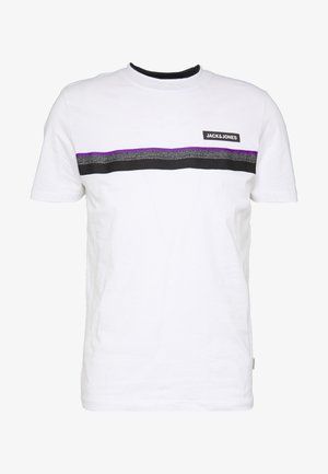 JCOARTIC TEE CREW NECK - Print T-shirt - white