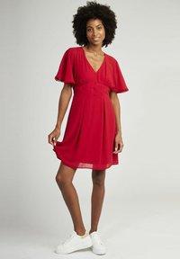 NAF NAF - CROCUS - Day dress - red - 1