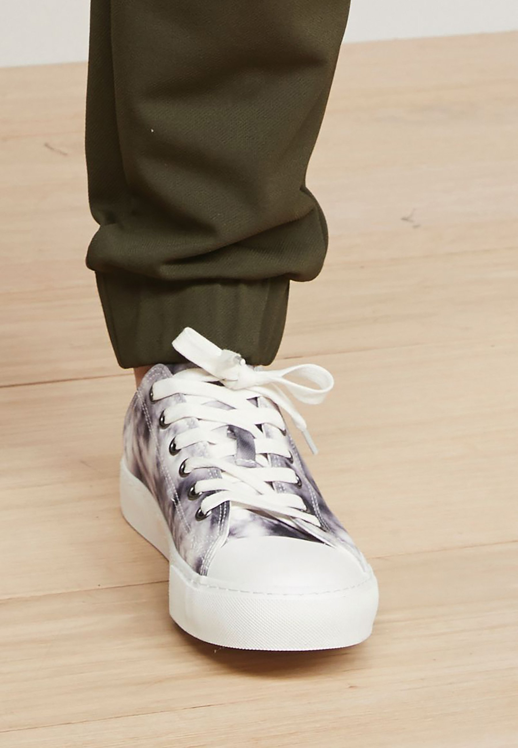 Femme MORRIS & CO. AT NEXT BASEBALL CANVAS TRAINERS - Baskets basses