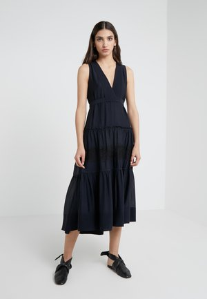 BELTED DRESS  - Maxi dress - midnight