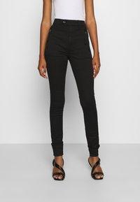 G-Star - WELD HIGH SLIM  - Jeans Skinny Fit - black - 0