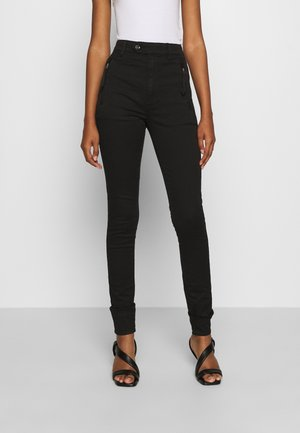 WELD HIGH SLIM  - Jeansy Skinny Fit - black