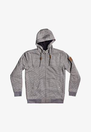 Zip-up hoodie - iron gate