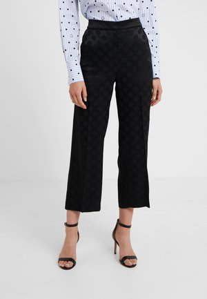 TAILORED PANTS - Kalhoty - black