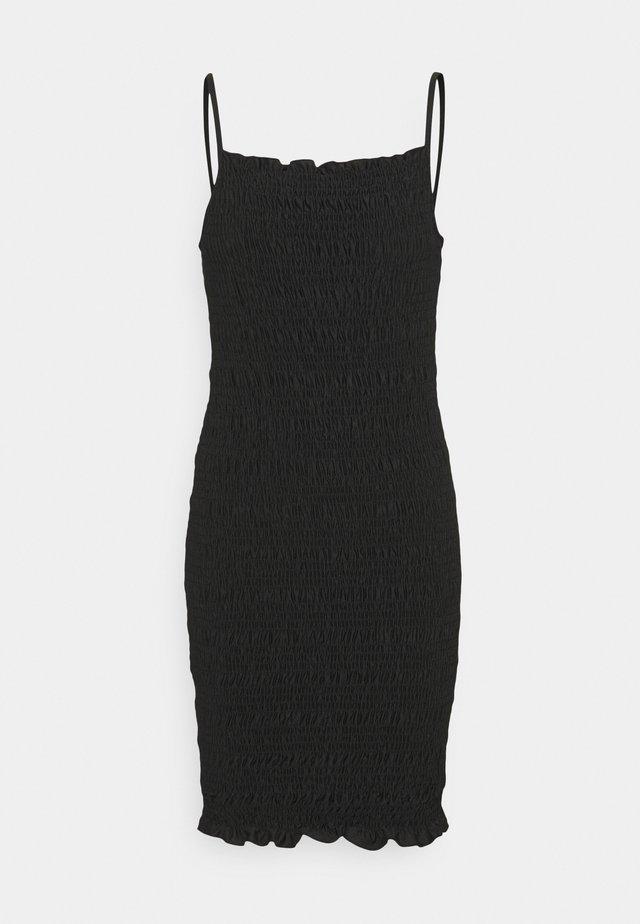 ONLKAJA SMOCK DRESS - Jerseykjoler - black