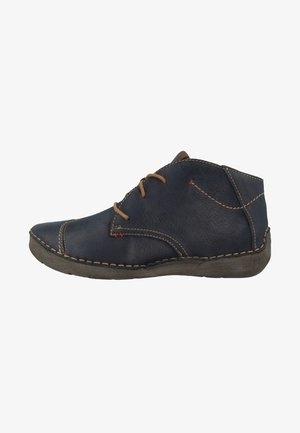 FERGEY - Casual lace-ups - blue