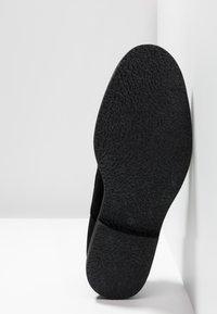 Topman - SPARK - Smart lace-ups - black - 4
