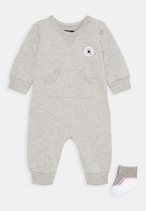 LIL CHUCK COVERALL SET UNISEX - Jumpsuit - dark grey heather