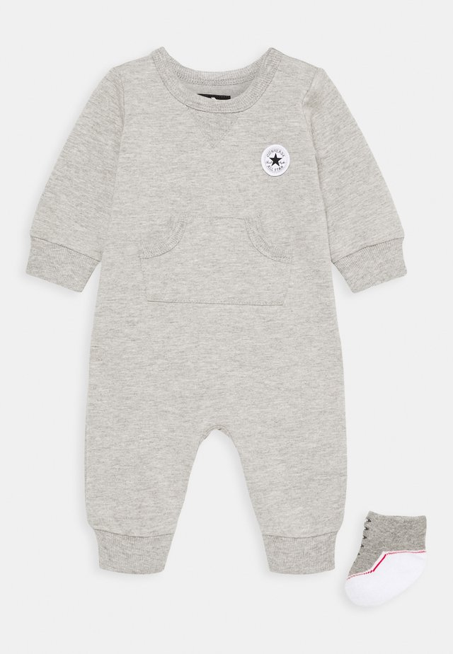 LIL CHUCK COVERALL SET UNISEX - Combinaison - dark grey heather