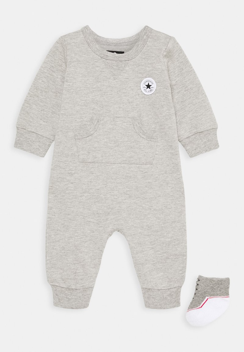 Converse - LIL CHUCK COVERALL SET UNISEX - Jumpsuit - dark grey heather
