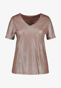 Samoon - Basic T-shirt - mocca brown - 2