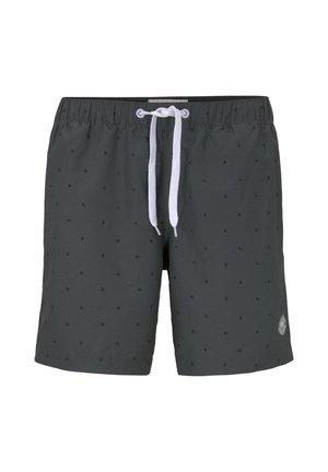 Swimming shorts - grey palm minimal design
