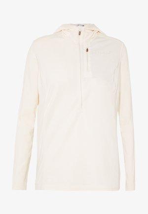 SVALBARD HOOD - Long sleeved top - ecru