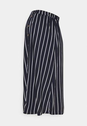 MLSINEM MIDI SKIRT - A-line skirt - navy blazer