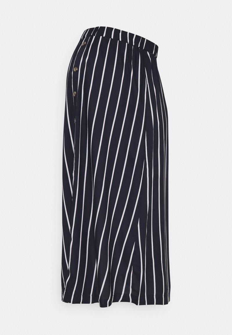 MAMALICIOUS - MLSINEM MIDI SKIRT - A-line skirt - navy blazer