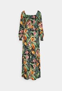 JDY - JDYMINA 3/4 SMOCK ANKLE DRESS - Maxi dress - black/multicolor - 1