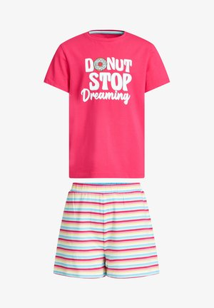 SET - Pyjama - pink/white