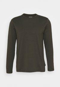 Burton Menswear London - LONG SLEEVE CREW 2 PACK  - Maglietta a manica lunga - charcoal - 5