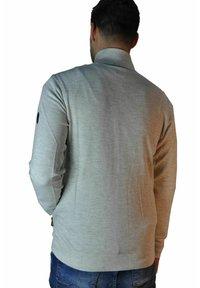 LERROS - Zip-up hoodie - cream white melange - 1