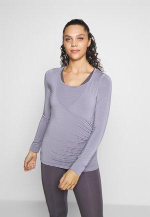Camiseta de manga larga - pearl grey
