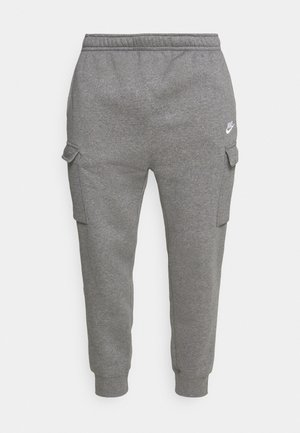 CLUB PANT - Pantalones cargo - charcoal heather/anthracite/white