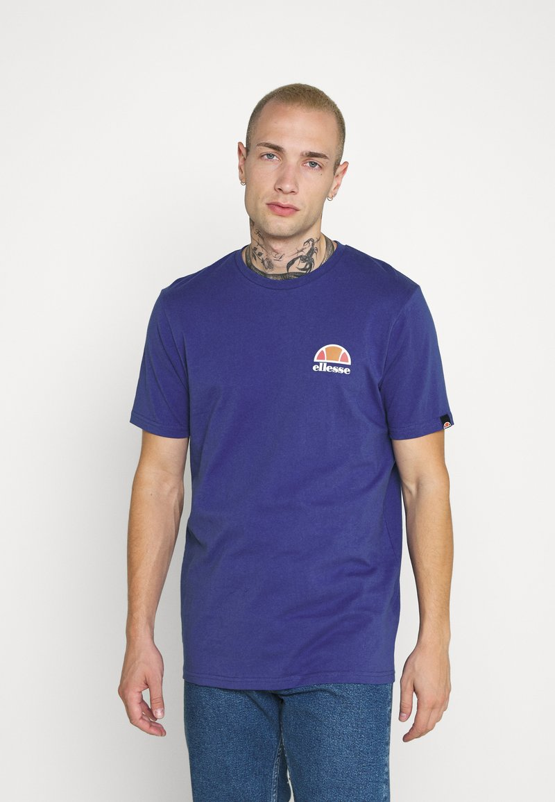 Ellesse - CANALETTO - Print T-shirt - blue
