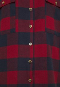 Noisy May Petite - NMFLANNY LONG SHACKET  - Summer jacket - rhubarb/navy blazer - 2