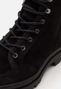 LAST STUDIO - COLSON - Lace-up ankle boots - black - 5
