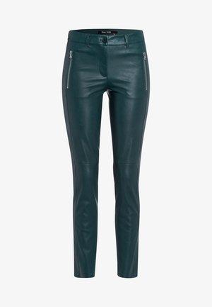 Trousers - super dark jade